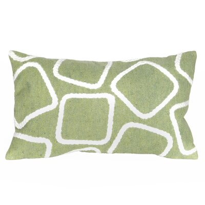 Colley Lumbar Pillow Color: Lime