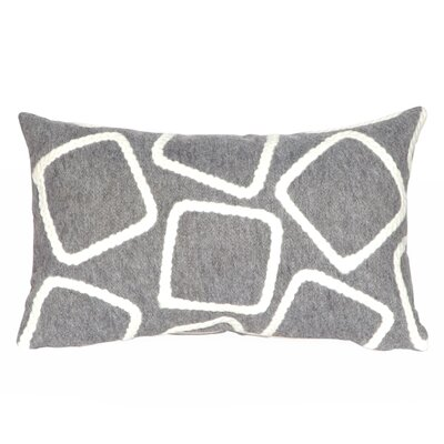 Colley Lumbar Pillow Color: Silver