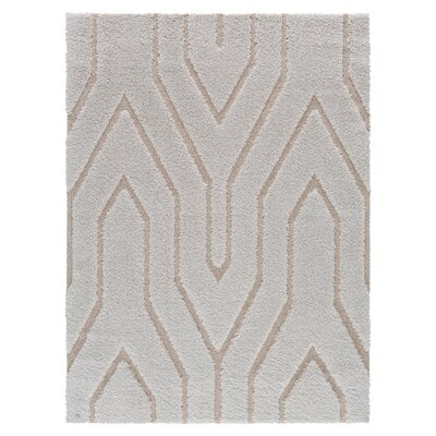White/Beige Area Rug