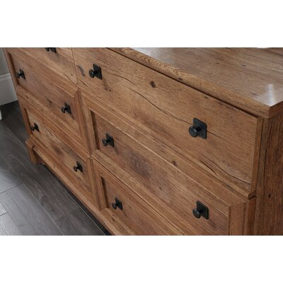 Demello 6 Drawer Dresser
