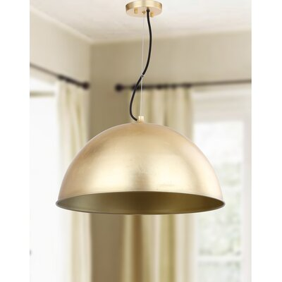Arsen 1 Light Inverted Pendant