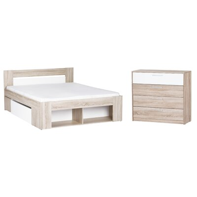 Duren Queen Platform Configurable Bedroom Set