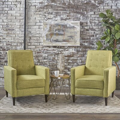 Kenzie Recliner Upholstery: Muted Green