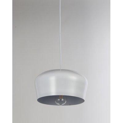 Brantner Industrial 1-Light Mini Pendant Finish: White