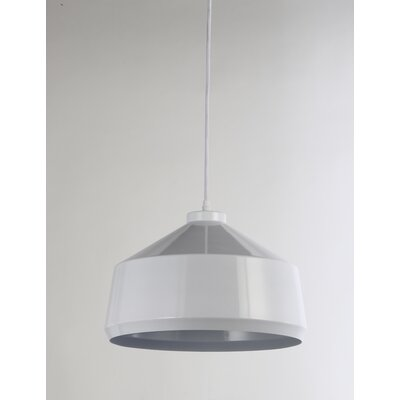 Brantner 1-Light Mini Pendant Finish: White