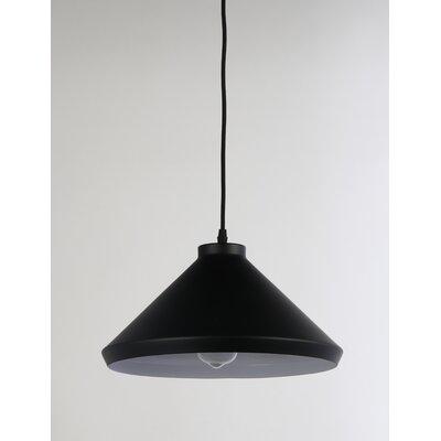 Brantner 1-Light Mini Pendant Finish: Black