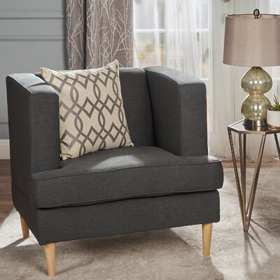 Disney Armchair Upholstery: Dark Gray