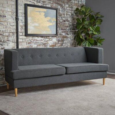 Brabham Sofa Upholstery: Charcoal Gray