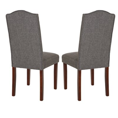 Lepore Upholstered Nailhead Parsons Chair