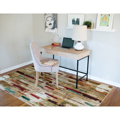 Domenic Tan Area Rug Rug Size: Rectangle 76 x 10