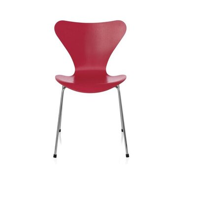 Bryd Contemporary Dining Chair Color: Red