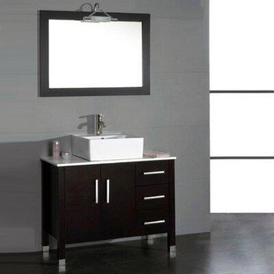 Jessa 40 Single Bathroom Vanity with Mirror
