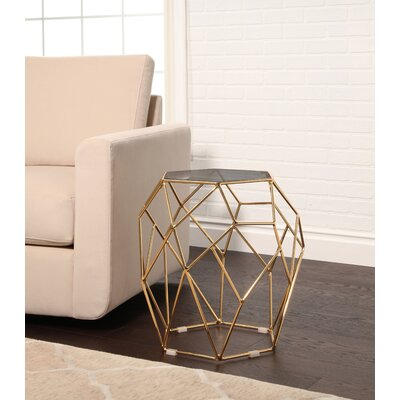 Buchanan Stainless Steel End Table