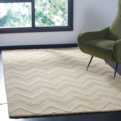 Nishi Beige Area Rug Rug Size: Rectangle 5 x 8