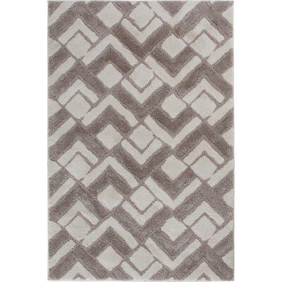Hibbing Buff White/Parchment Beige Area Rug Rug Size: 7'10