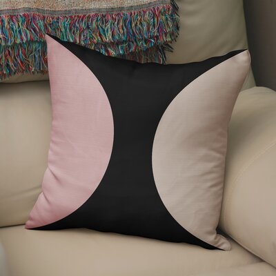 Rina Throw Pillow Size: 16