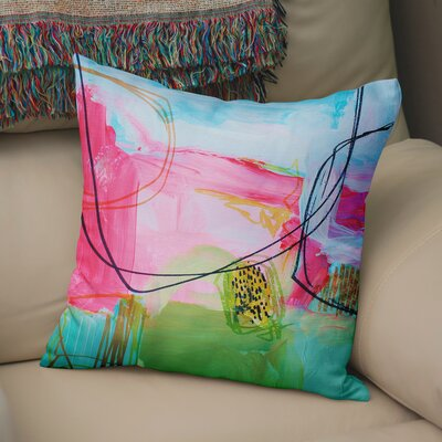 Moriann Throw Pillow Size: 24