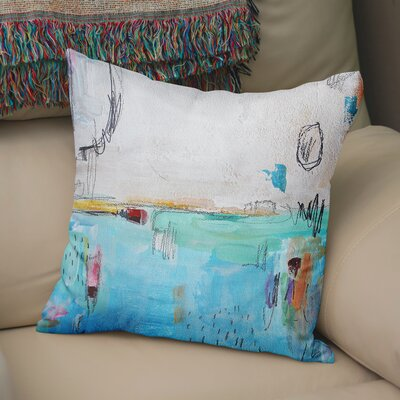 Rosamaria Throw Pillow Size: 24 x 24