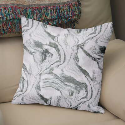 Dalessio Marble Throw Pillow Size: 24 H x 24 W
