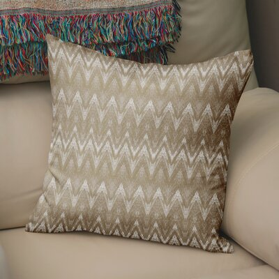 Marshall Gold Throw Pillow Size: 26 H x 26 W x 6 D