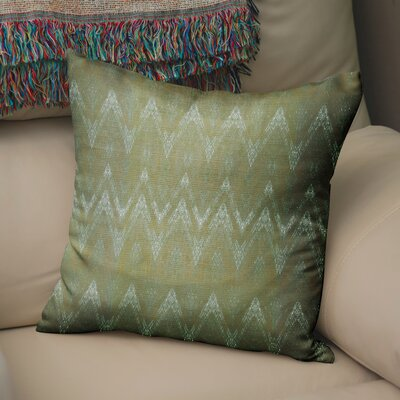 Marshall Green Throw Pillow Size: 18 H x 18 W x 6 D