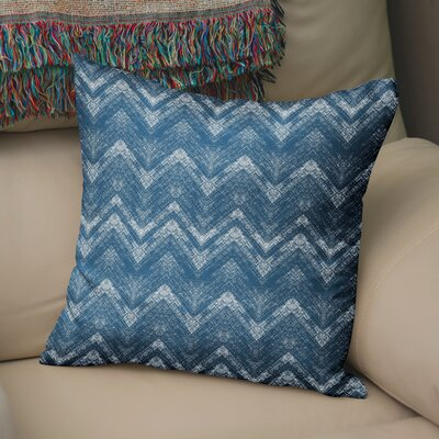 Marshall Blue Throw Pillow Size: 18 H x 18 W x 6 D