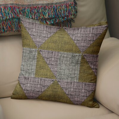 Austin Textured Throw Pillow Size: 18 H x 18 W x 6 D