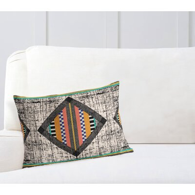 Wiggins Geometric Lumbar Pillow Size: 18 H x 24 W