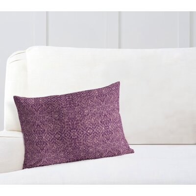 Conyingham Lumbar Pillow Color: Purple, Size: 18 x 24
