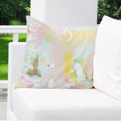 Dalessandro Bliss Outdoor Throw Pillow Size: 18 H x 18 W