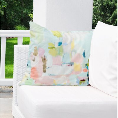 Dalessandro Luck Outdoor Throw Pillow Size: 18 H x 18 W