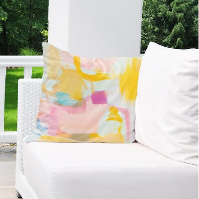 Dalessandro Sway Outdoor Throw Pillow Size: 26 H x 26 W