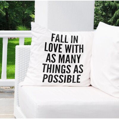 Renava Indoor/Outdoor Throw Pillow Size: 26 H x 26 W x 8 D