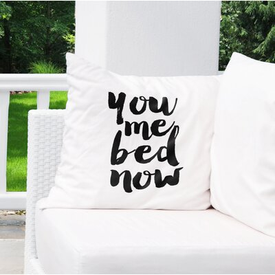 Metro Indoor/Outdoor Throw Pillow Size: 26 H x 26 W x 8 D