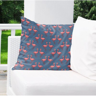 Crawfordsville Indoor/Outdoor Throw Pillow Size: 18 H x 18 W x 4 D
