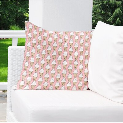 Garcia Indoor/Outdoor Throw Pillow Size: 26 H x 26 W x 4 D