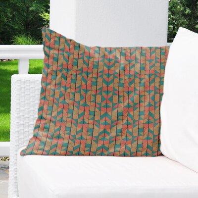 Ferber Outdoor Throw Pillow Size: 18 x 18