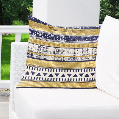 Crawford Indoor/Outdoor Throw Pillow Size: 18 H x 18 W x 6 D