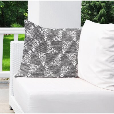 Wiggins Square Indoor/Outdoor Throw Pillow Size: 18 H x 18 W x 6 D
