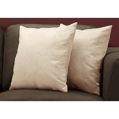 Cottrill Throw Pillow Color: Taupe