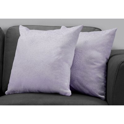 Cottrill Throw Pillow Color: Purple