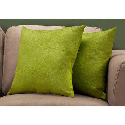 Cottrill Throw Pillow Color: Green