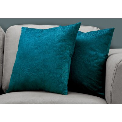 Cottrill Throw Pillow Color: Turquoise