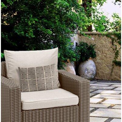 Henley Tile Stripe Outdoor Lumbar Pillow