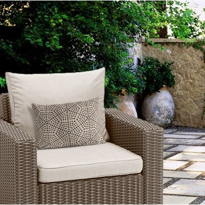 Danna Tile Outdoor Lumbar Pillow