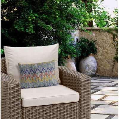 Fenster Outdoor Lumbar Pillow