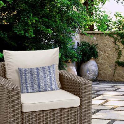 Cheyenne Stripes Outdoor Lumbar Pillow