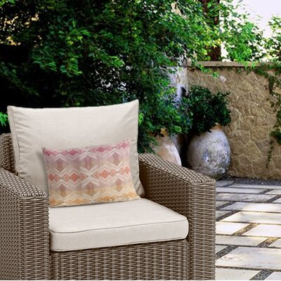 Henley Tile Outdoor Lumbar Pillow