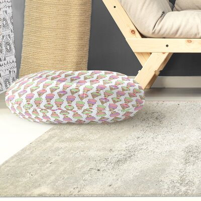 Garcia Indoor/Outdoor Floor Pillow Size: 26 H x 26 W x 8 D