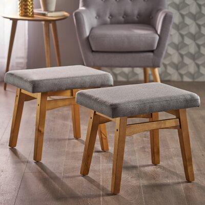 Boysen Ottoman Upholstery: Gray
